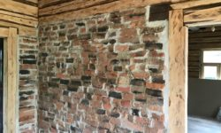 Vana telliikiviseina taastamine